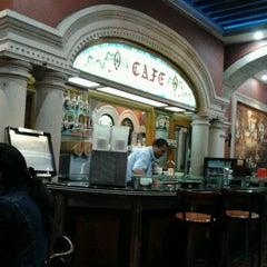 Photo taken at Café Europa by Sergio Q. on 4/21/2012