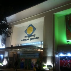 Photo taken at Shopping Campo Grande by Natalia V. on 8/30/2012