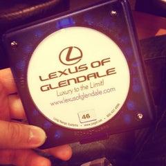 Photo taken at Lexus of Glendale by Jib S. on 3/4/2012
