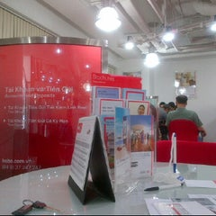 Photo taken at HSBC E-town by Minh C. on 3/15/2012