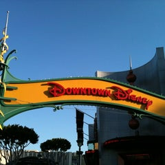Photo taken at Downtown Disney Parking Lot by Valerie M. on 8/7/2012