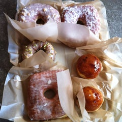 Photo taken at Doughnut Plant by J D. on 8/18/2012