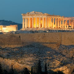 Photo taken at Ακρόπολη Αθηνών (Acropolis of Athens) by Visit Greece on 9/15/2011