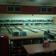 Photo taken at Astoria Bowl by Andy D. on 6/29/2012