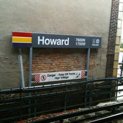 Photo taken at CTA - Howard by Kenneth I. on 7/24/2012