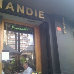 Photo taken at Normandie by Inti on 10/4/2011
