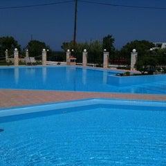 Photo taken at Chryssana Beach Hotel by Roberta G. on 5/26/2012