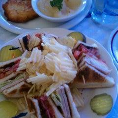 Photo taken at Scharfs German Restaurant und Bar by Jeff S. on 9/14/2011