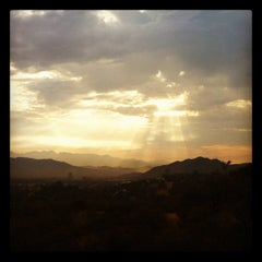 Photo taken at Fryman Canyon by Tyler S. on 8/17/2012