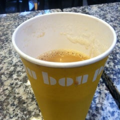 Photo taken at Au Bon Pain by Libby V. on 2/14/2012