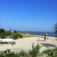 Photo taken at Willoughby Spit by Carrie L. on 8/29/2011