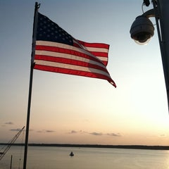 Photo taken at Harbour Town Lighthouse by Tyler H. on 9/3/2011