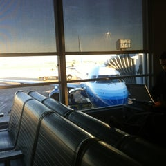 Photo taken at Gate B21 by Steve W. on 1/3/2012