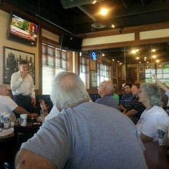 Photo taken at Barro's Pizza by Tisha C. on 7/21/2012