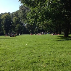 Photo taken at Erasmuspark by Helen K. on 8/11/2012