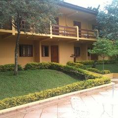 Photo taken at Hotel Fazenda Saint Nicolas by Ronaldo V. on 5/12/2012