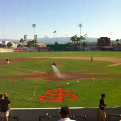 Photo taken at San Jose Municipal Stadium by Katie V. on 7/15/2012