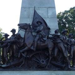 Photo taken at Virginia Monument, Gettysburg Battlefield by Mack R. on 6/10/2012