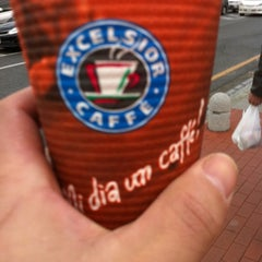 Photo taken at エクセルシオールカフェ 基山パーキングエリア下り店 by moffnn on 2/25/2012