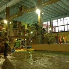 Photo taken at Mayan Adventure Waterpark by Victor R. on 12/28/2011