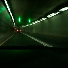 Photo taken at Baltimore Harbor Tunnel by William G. on 1/6/2012