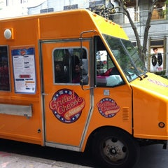Photo taken at Grilled Cheese Nation Food Truck by Karen D. on 11/3/2011