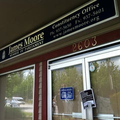 Photo taken at James Moore Constituency Office by Jeff T. on 6/2/2012