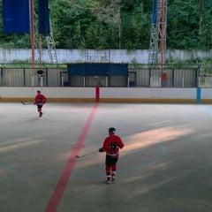 Photo taken at Zimny stadion ZnH by Milan K. on 9/17/2011