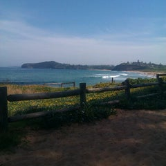 Photo taken at Mona Vale Beach by Ray I. on 10/22/2011
