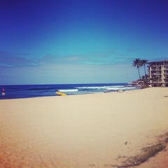 Photo taken at Makaha Beach Park by Kaimana on 6/21/2012