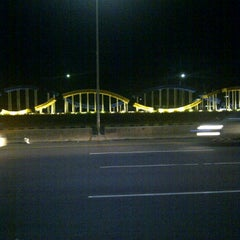 Photo taken at Gerbang Tol Pondok Gede Timur by Hendrajana H. on 3/8/2012