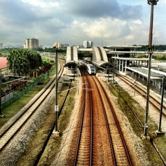 Photo taken at KTM Line - Bandar Tasik Selatan Station (KB04) by Boon H. on 11/14/2011
