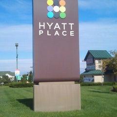 Photo taken at Hyatt Place Lexington by Tim Hobart M. on 9/27/2011