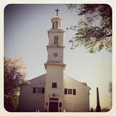 Photo taken at St. John's Church by Mary W. on 4/8/2012