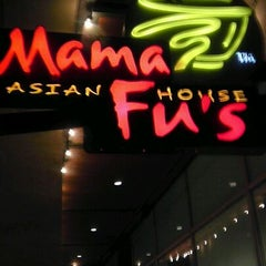 Photo taken at Mama Fu's Asian House by Tim G. on 2/19/2012