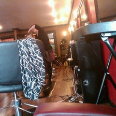 Photo taken at Red Chair Salon by Jacob G. on 9/21/2011
