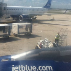Photo taken at JetBlue Ticket Counter by Franck R. on 10/25/2011