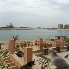 Photo taken at Al Hamra Village by Nahid . on 4/28/2012