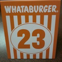 Photo taken at Whataburger by lew :. on 9/11/2011