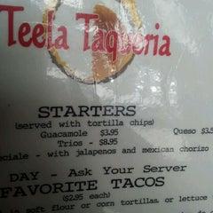 Photo taken at Teela Taqueria by Rodney P. on 12/23/2011