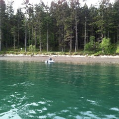 Photo taken at James Island by Bridget K. on 5/8/2012