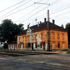 Photo taken at Rákosrendező vasútállomás by Balazs 8. on 8/12/2011