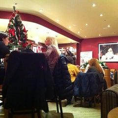 Photo taken at Costa Coffee (Коста Кофе) by Anton O. on 1/11/2011