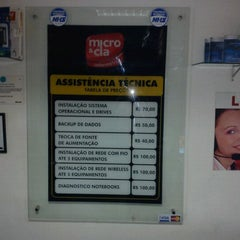 Photo taken at Micro & Cia by Saulo M. on 1/18/2012