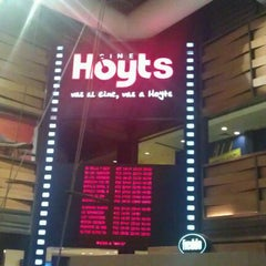 Photo taken at Hoyts by Ramiro L. on 5/20/2012