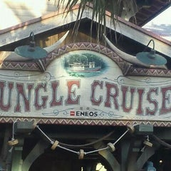 Photo taken at ジャングルクルーズ (Jungle Cruise) by 北斗の け. on 11/22/2011