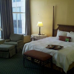 Photo taken at Hampton Inn & Suites New Orleans Downtown (French Quarter Area) by Mark L. on 10/5/2011