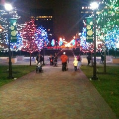 Photo taken at Columbus Commons by Terreece C. on 12/3/2011