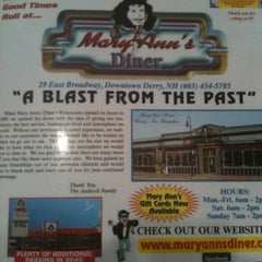 Photo taken at Mary Ann's Diner by Jenny W. on 7/30/2011
