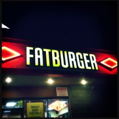 Photo taken at Fatburger by fresh s. on 4/16/2012